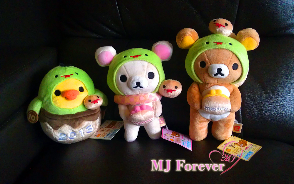 2013 Year of the Snake Rilakkuma set!