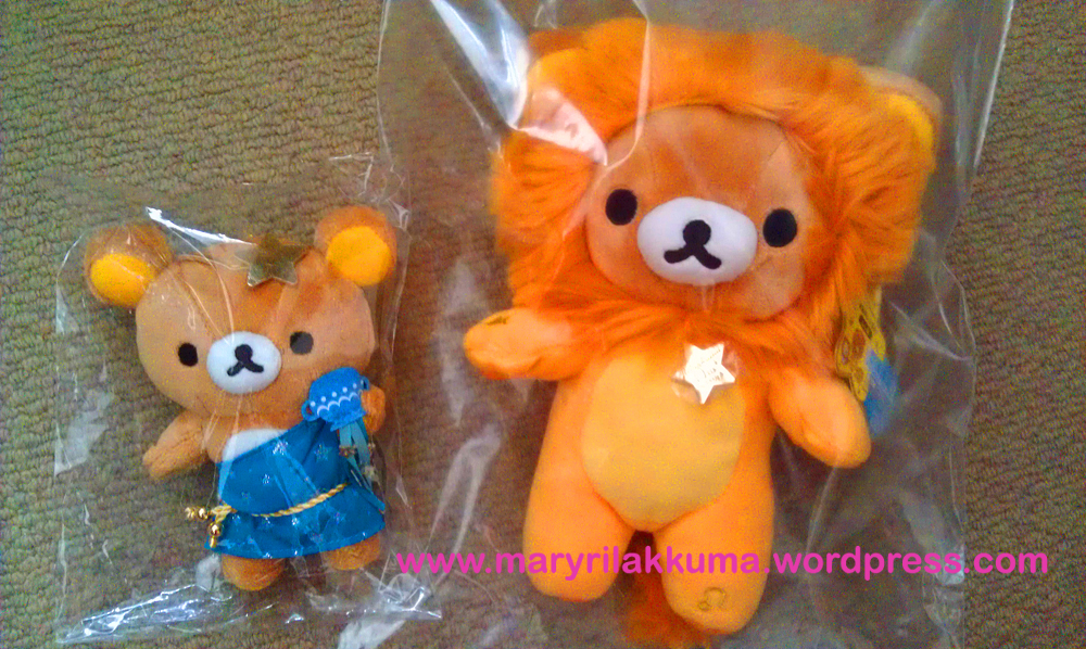 Size comparison with standard/original zodiac Rilakkuma
