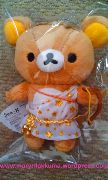 Sagittarius!  He's also carrying golden Rilakkuma shaped arrows in a quiver at the back.