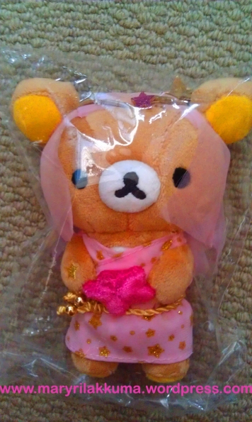 Virgo!  Rilakkuma getting in touch with his feminine side ;)