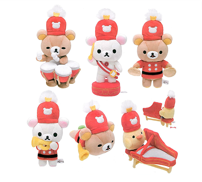 Marching Band Rilakkuma!  In commemoration of the 10th anniversary of Rilakkuma!  Scheduled for release in July 2013