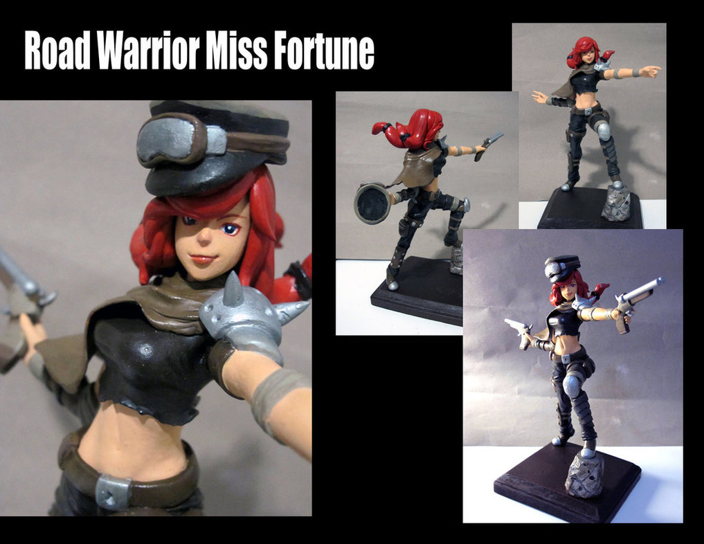 Road Warrior Miss Fortune model by Hojin