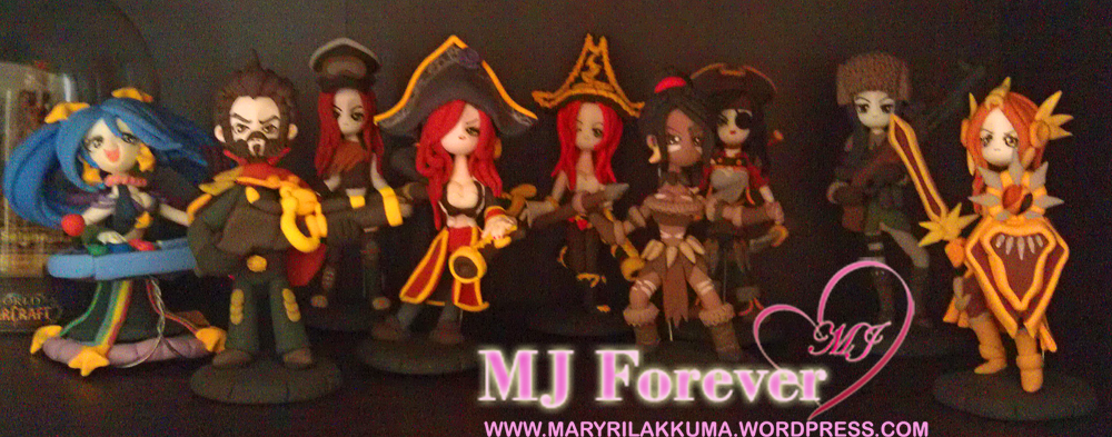 My Army of chibi clay League of Legends models haha!
