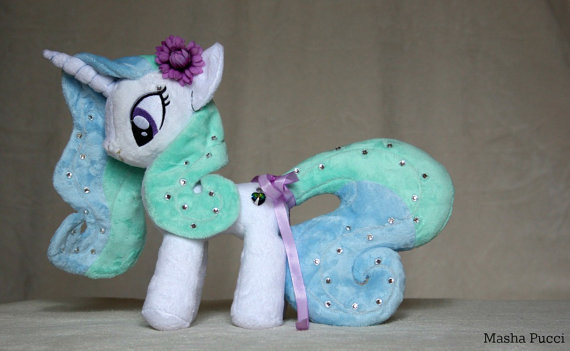 Masha's custom Sea Water pony