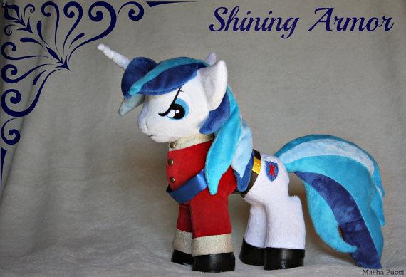 Masha's Shining Armor pony