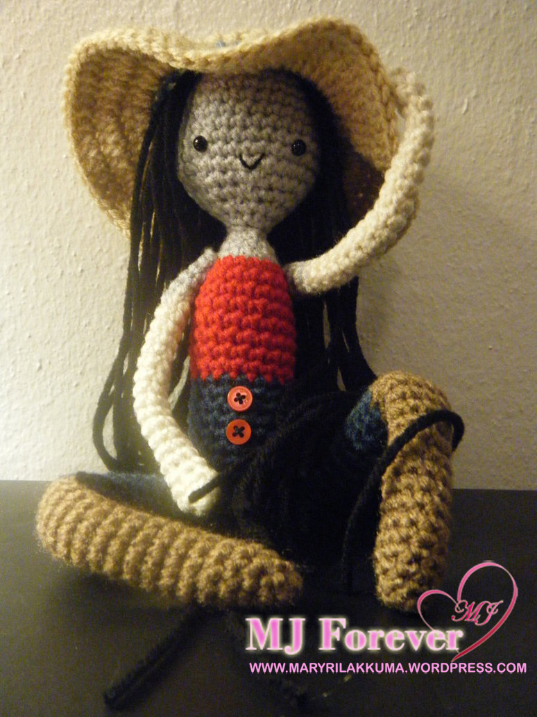 Marceline the Vampire Queen Amigurumi