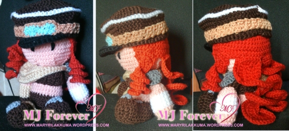 Miss Fortune Road Warrior Amigurumi
