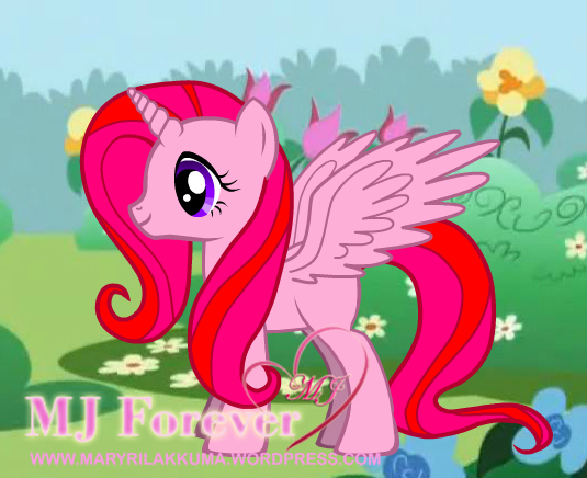 My custom OC MJ pony :D