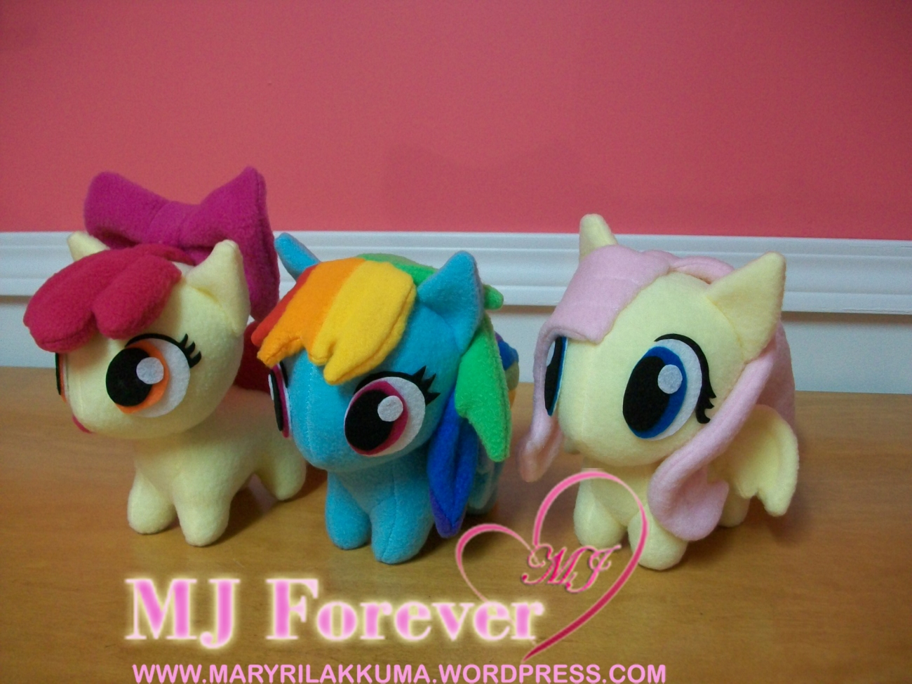 Apple Bloom, Rainbow Dash and Flutter Shy