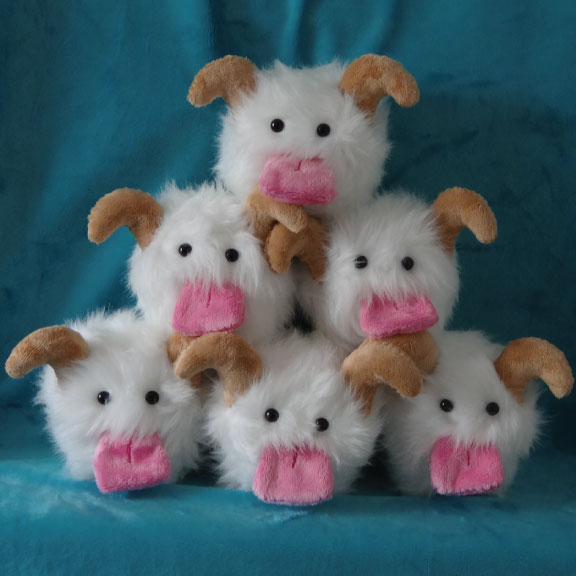 Pyramid of cute poros!!  By WhimzicalWhizkerz