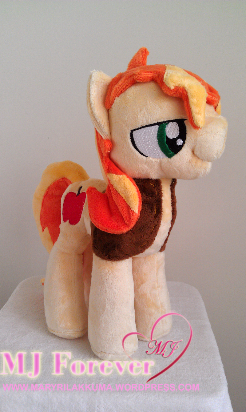 Braeburn plushie by Finnickie (without his hat)