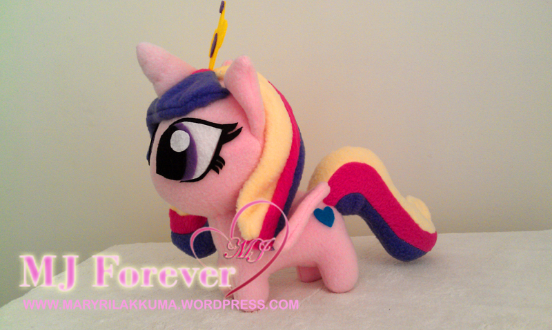 Chibi Princess Cadance plushie by happybunny86