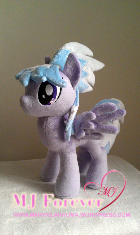 Cloudchaser plushie by Little-Broy-Peep-Inc