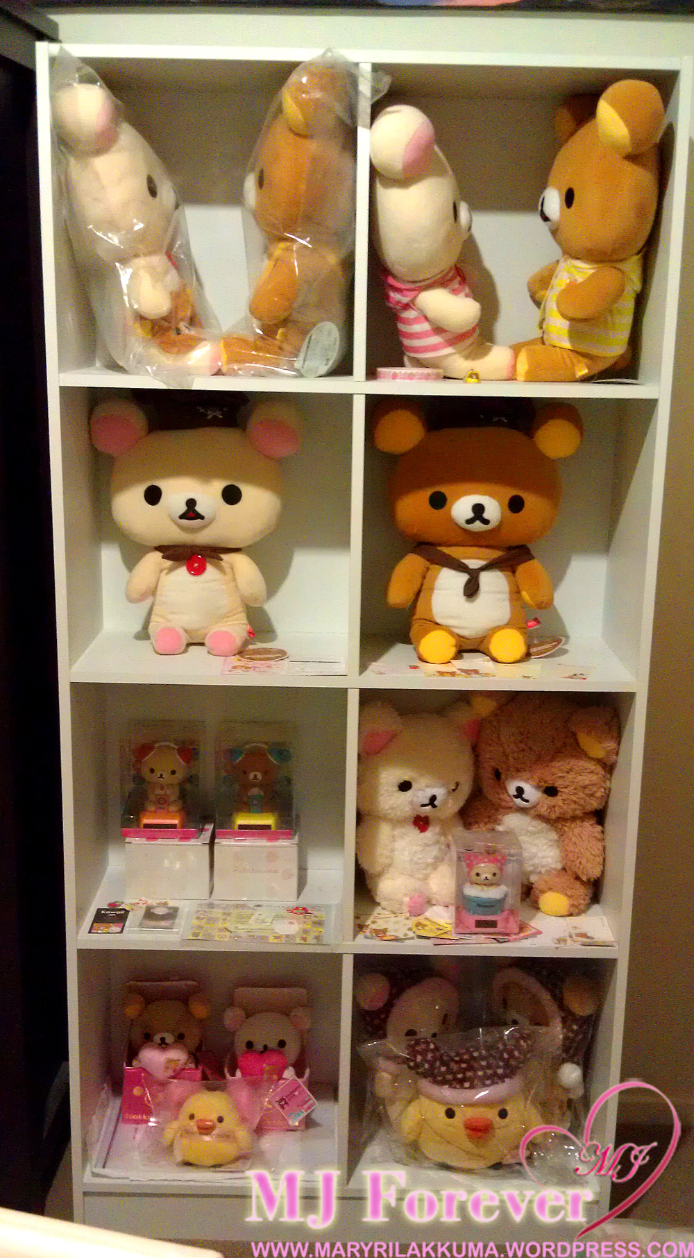 Rilakkuma collection shelf #2