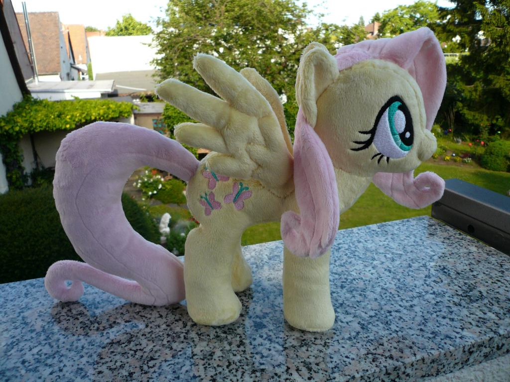 My Fluttershy #2 plushie by the talented navkaze