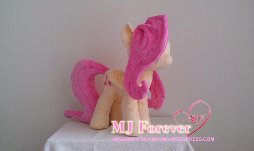 Huge Fluttershy plushie by Wild-Hearts