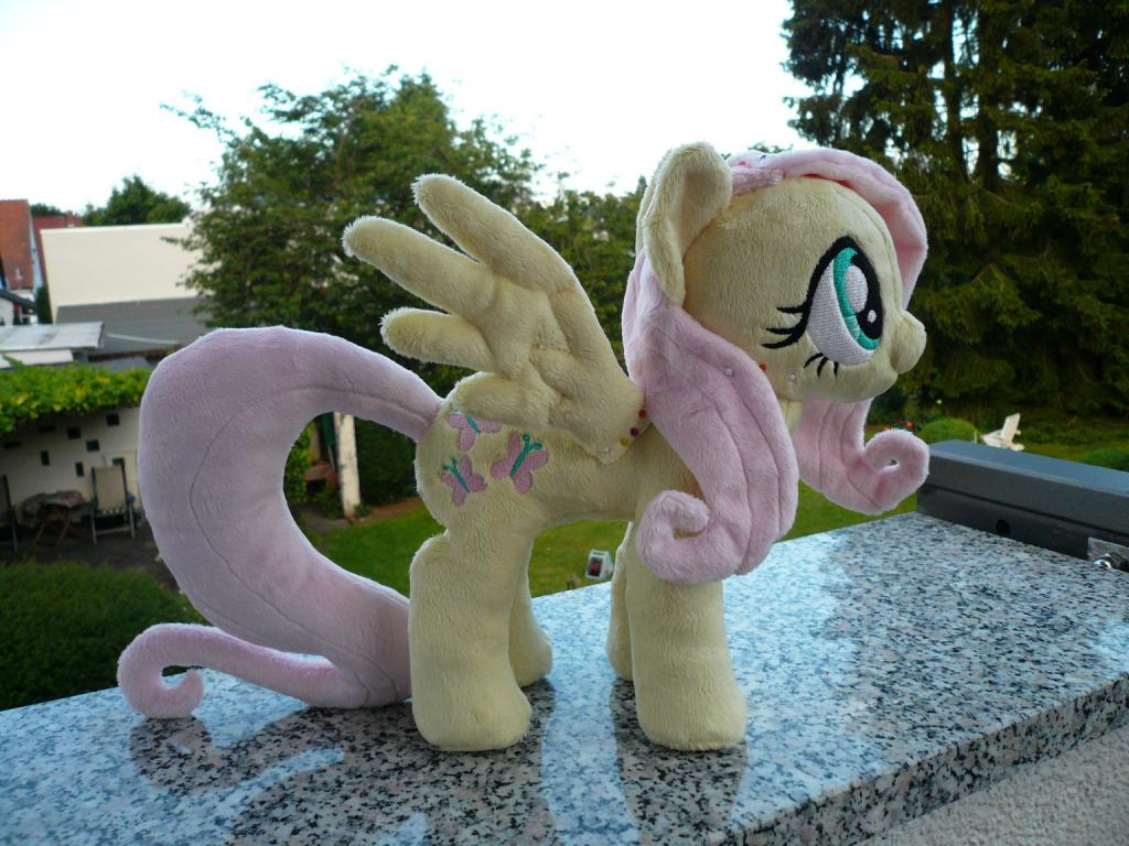 Pre-sewing photo of Fluttershy #2 by navkaze