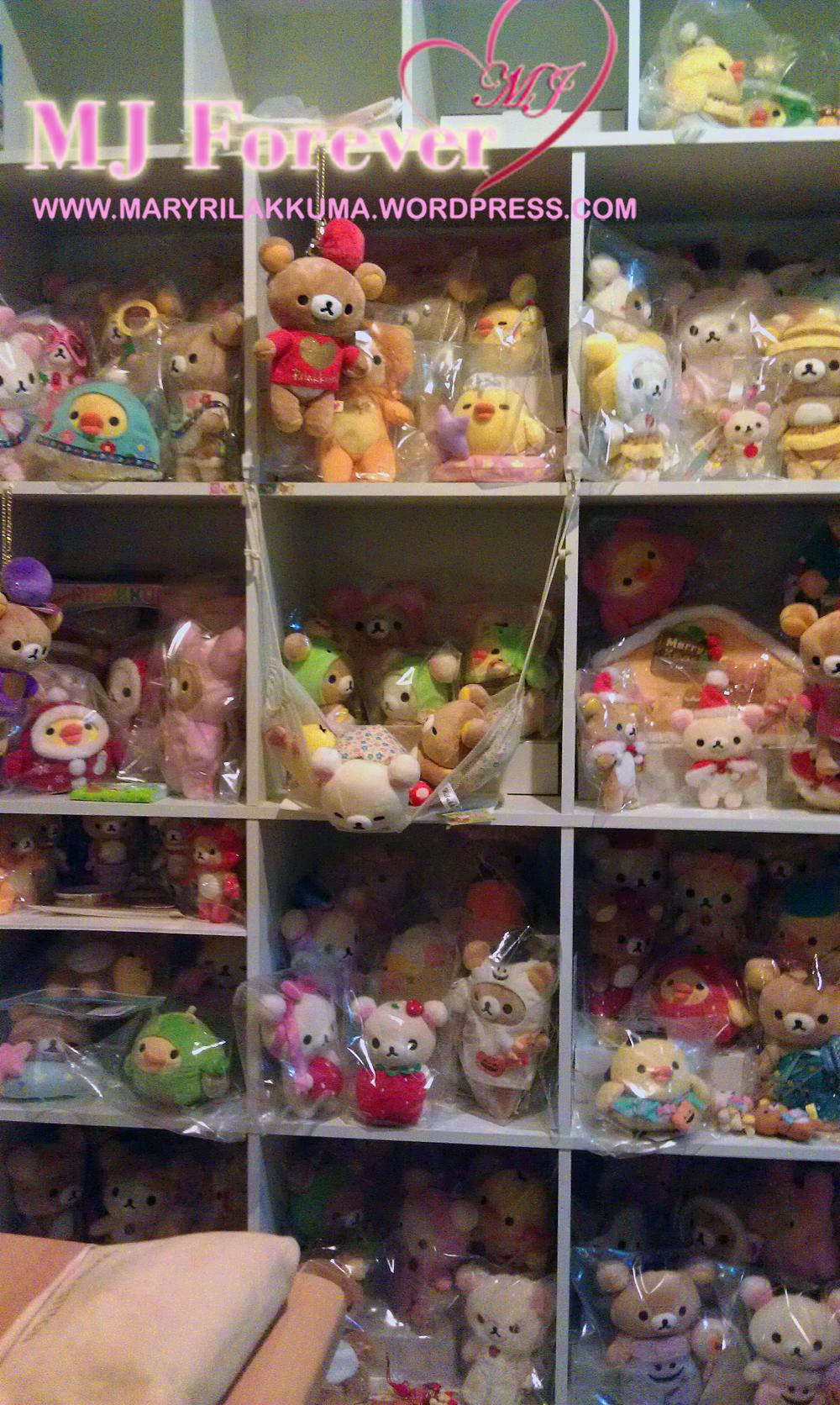 New Rilakkuma display shelf #1
