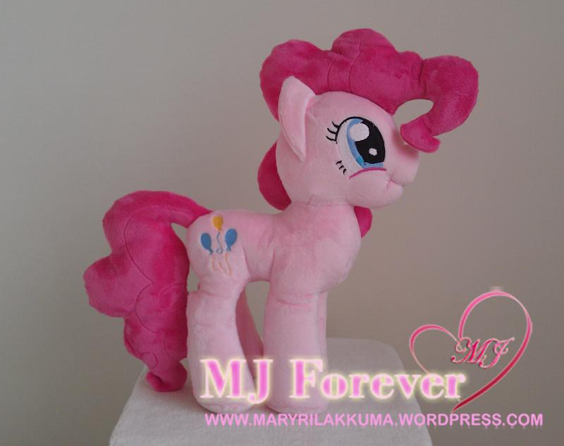Pinkie Pie plushie by Finnickie