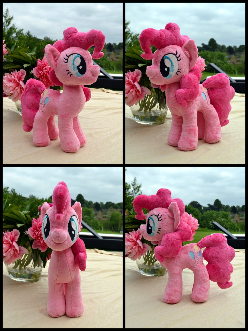 Pinkie Pie Plush by PulsefireKitten greeted me this morning