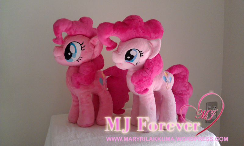 Pinkie Pie #1 by PulsefireKitten and Pinkie Pie #2 by Finnickie