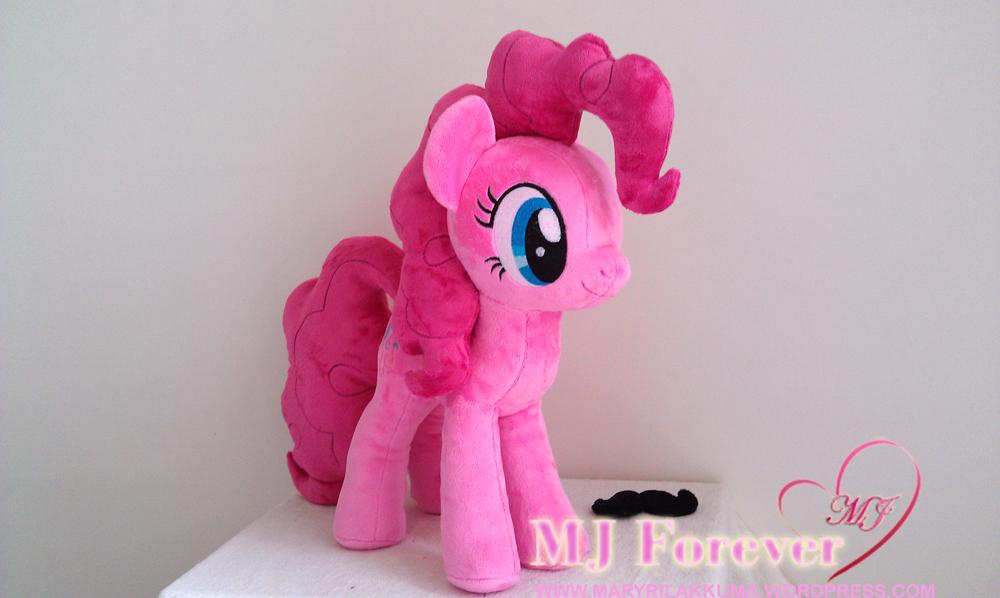 Huge Pinkie Pie plushie by Wild-Hearts