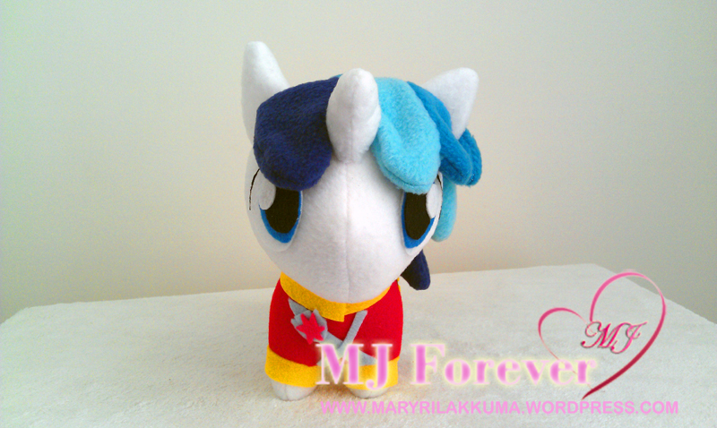 Chibi Shining Armour plushie by happybunny86