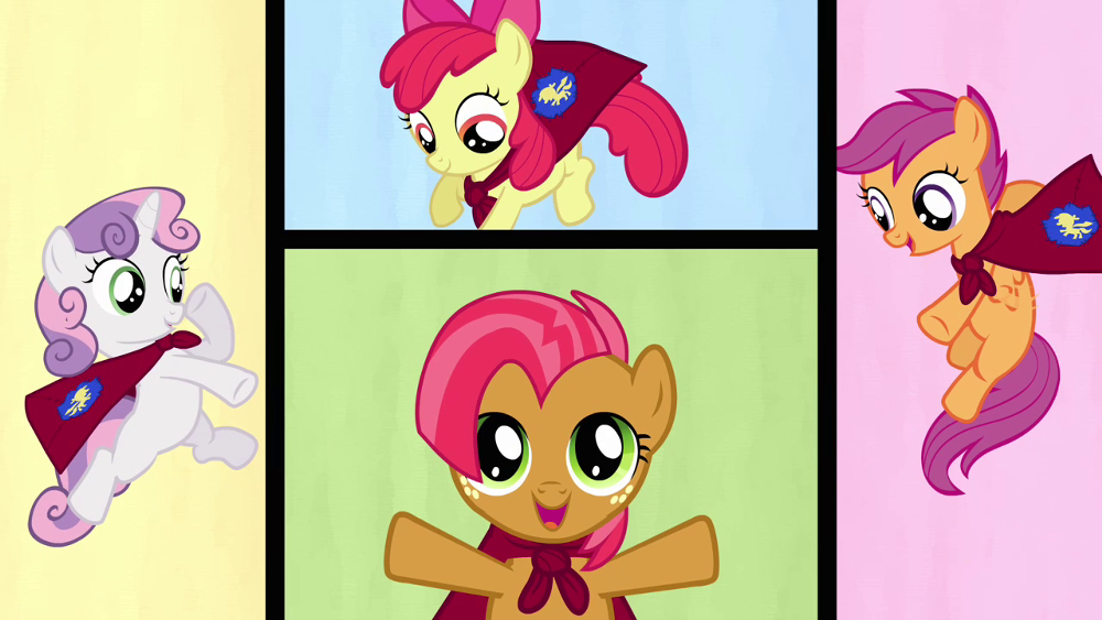 The Cutie Mark Crusaders!