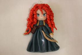 Merida Chibi (Polymer Clay Charm)  from Brave