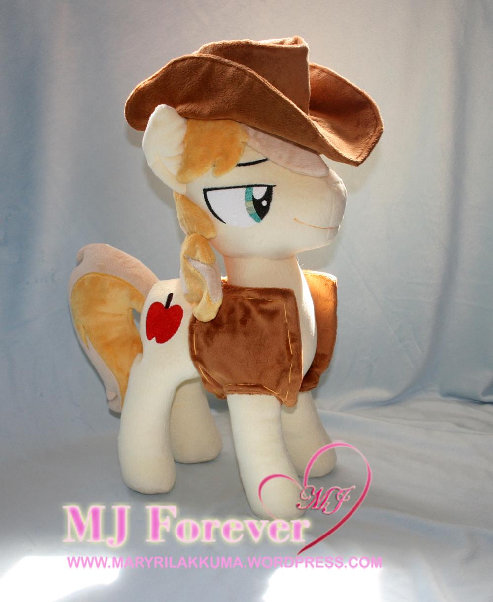 My Braeburn pony plushie by Lavim