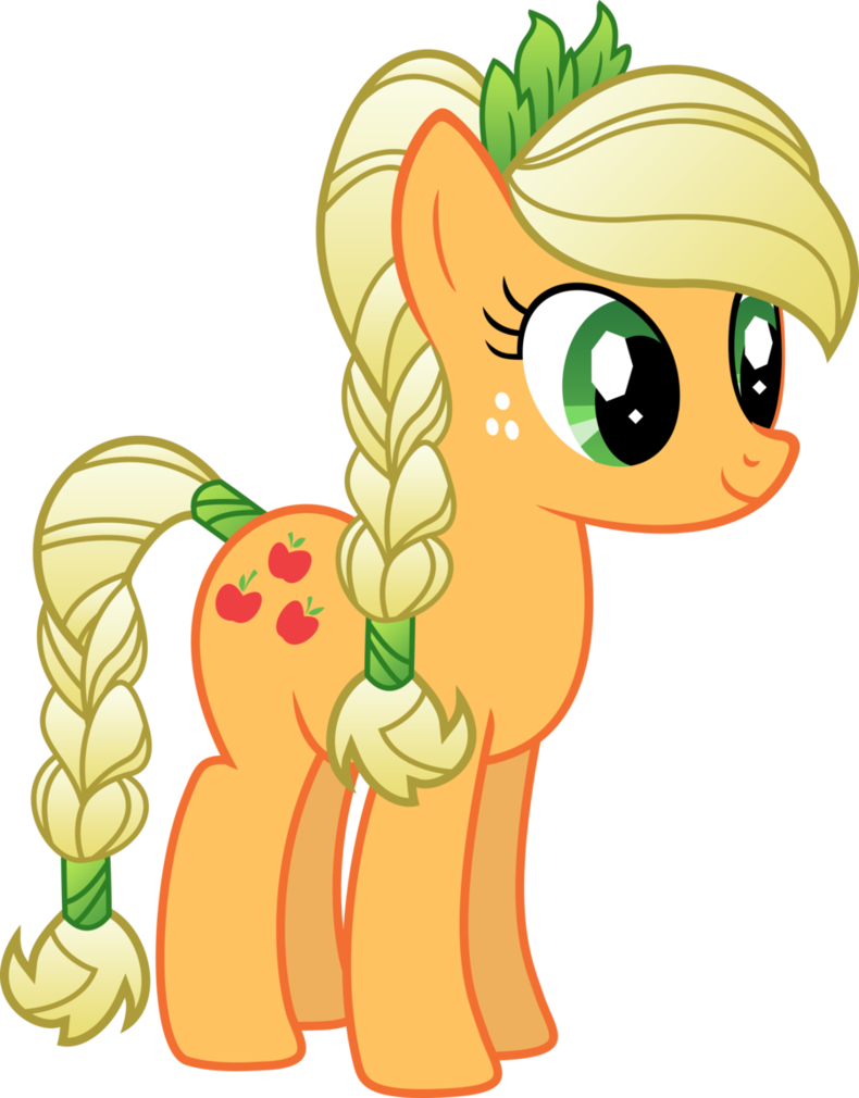 Crystal pony Applejack