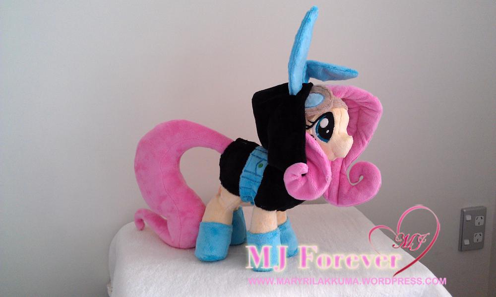 Dangerous Mission Fluttershy plushie by Sophillia