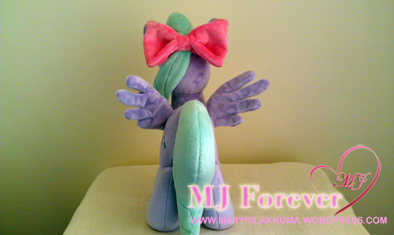 Flitter plushie by Little-Broy-Peep-Inc