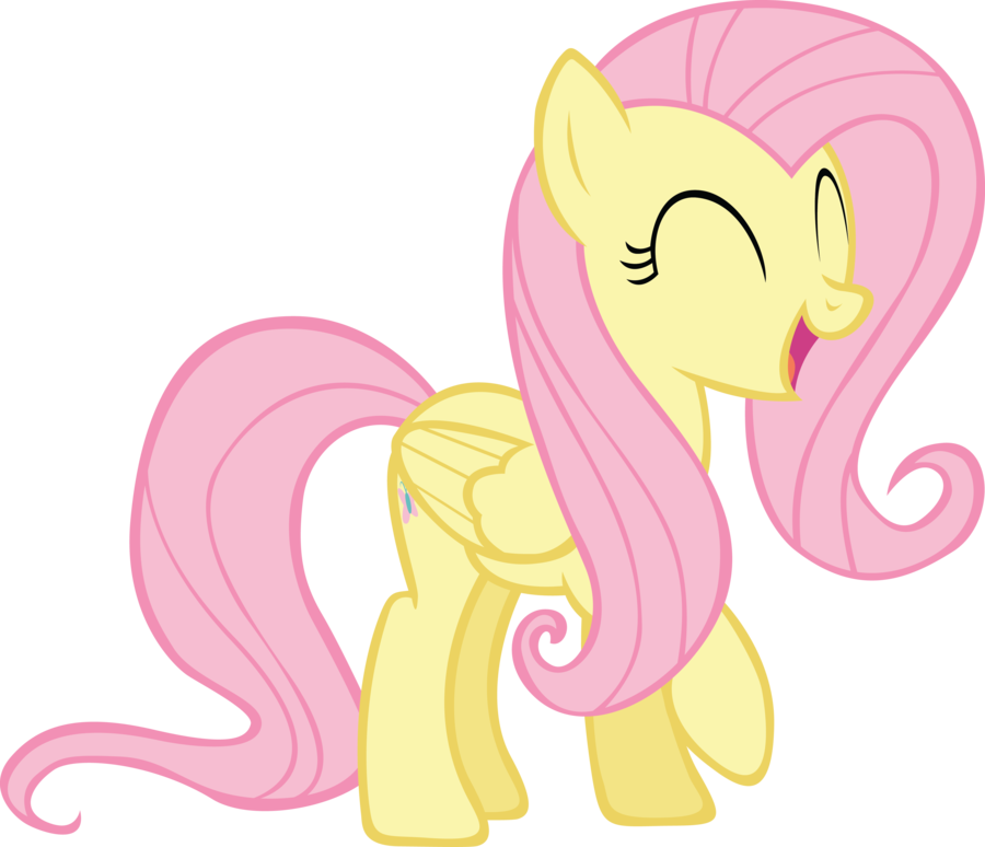 happy_fluttershy_by_rainbowcrab-d4lm6vt