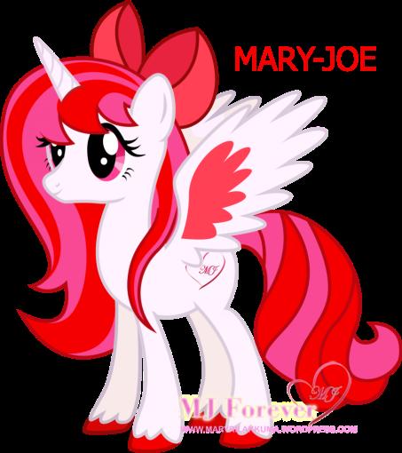 Mary-Joe vectored by DisguredStick