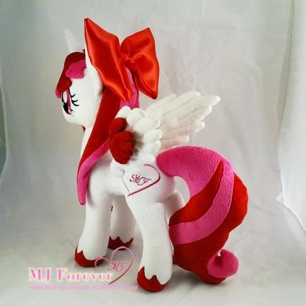 Mary-Joe (aka MJ Forever) OC pony plushified by Lavim