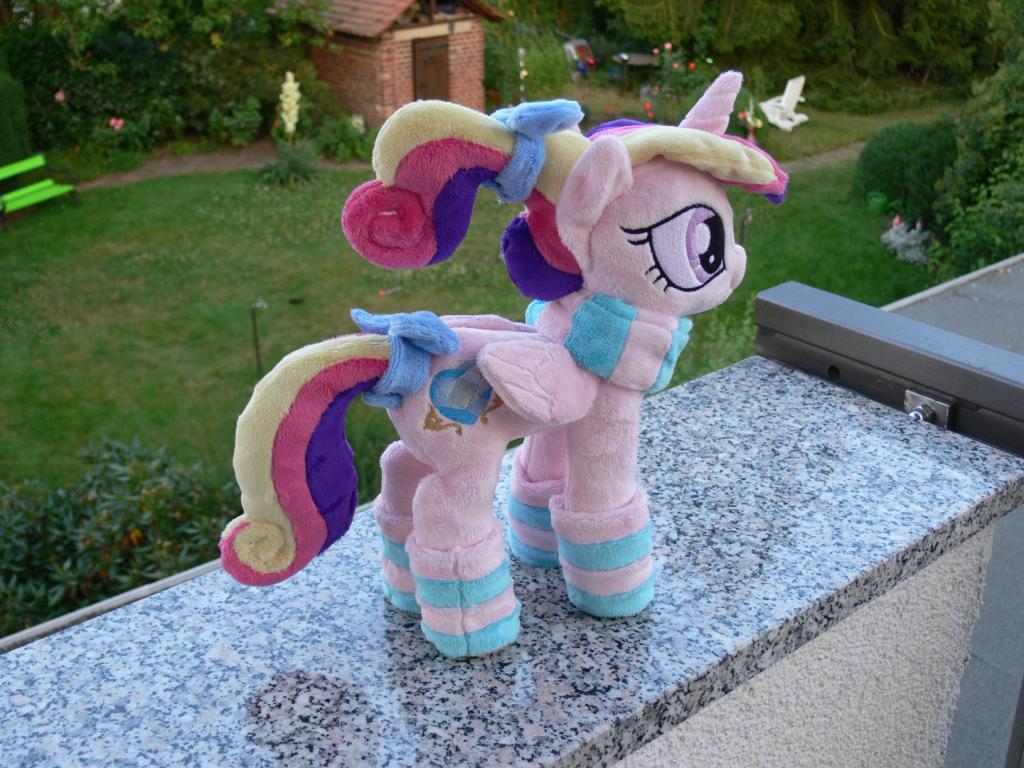 Princess Cadance foalsitter plushie preshipment pics by navkaze