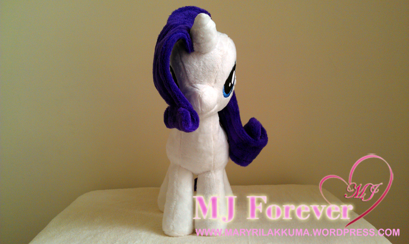 Rarity #1 plushie by Cryptic-Enigma