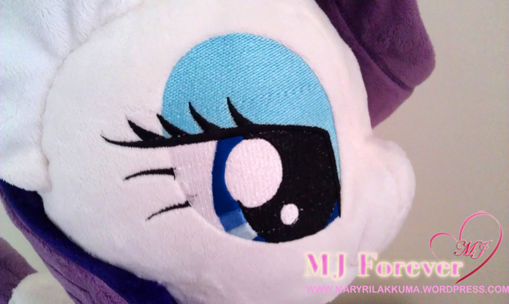 Rarity plushie #2 by Burzurk