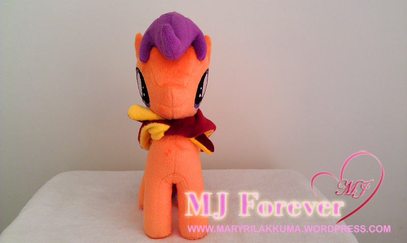 Scootaloo plushie by Lavim