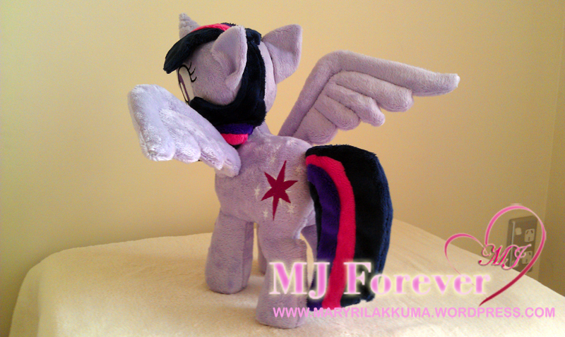 Twilight alicorn plushie by Cryptic-Enigma