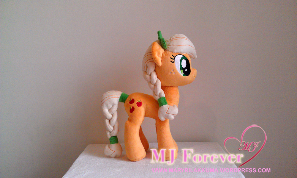 My Little Pony Crystal Pony Applejack 3 Moggymawee Plushies