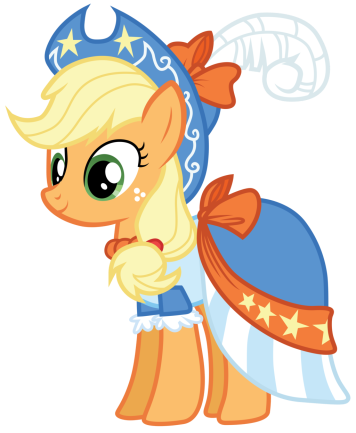 applejack_s_coronation_dress_by_bethiebo-d5vqneu