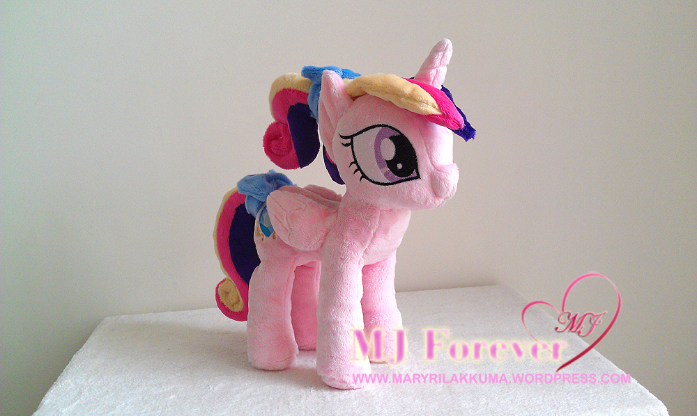 Foalsitter Princess Cadance plushie by navkaze