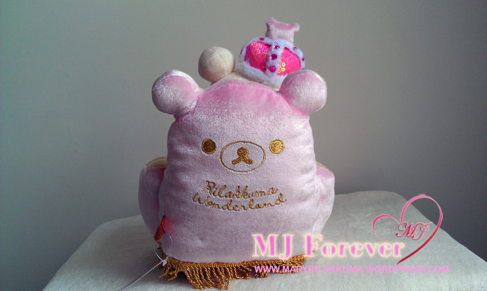 Korilakkuma Winter Wonderland thrones series