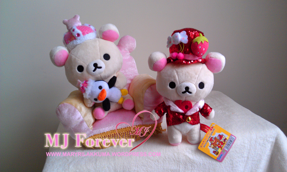 Korilakkuma 10th Anniversary Red Sparkly Tuxedo Series