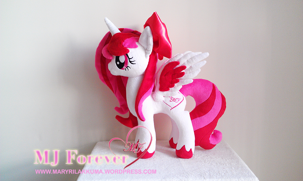 Mary-Joe (aka MJ Forever) OC pony plushified by Lavim