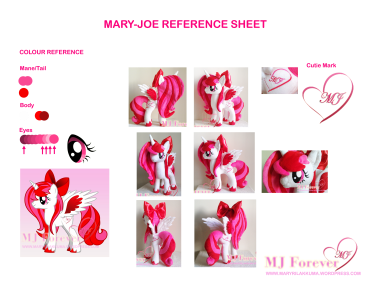 Mary-Joe Character Reference Sheet