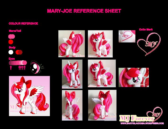Mary-Joe Character Reference Sheet