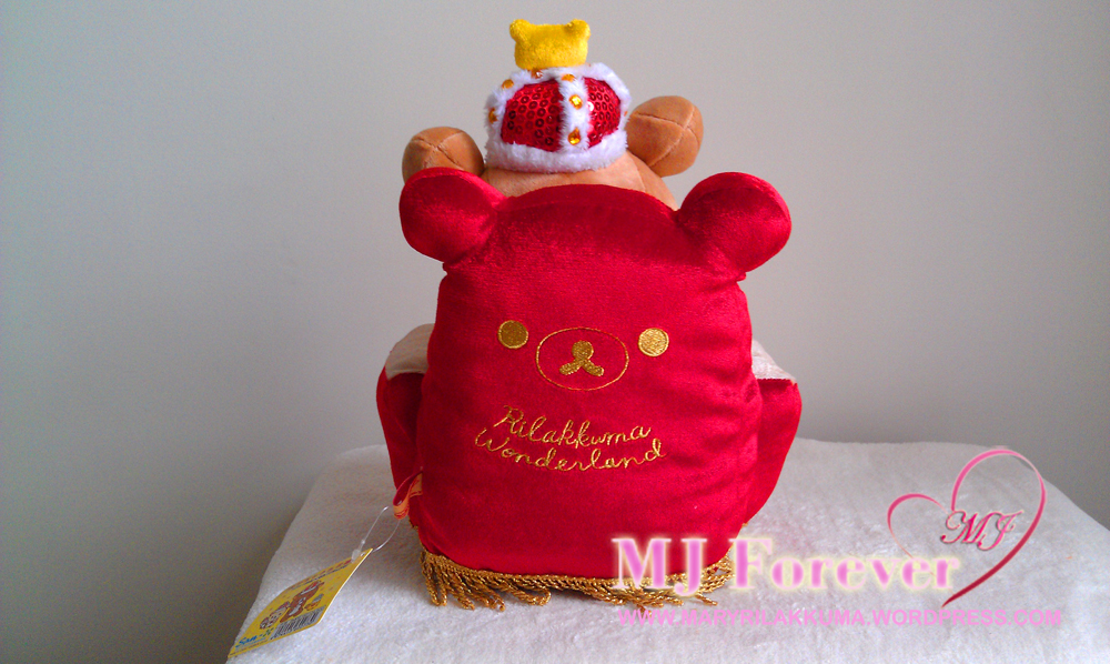 Rilakkuma Winter Wonderland thrones series